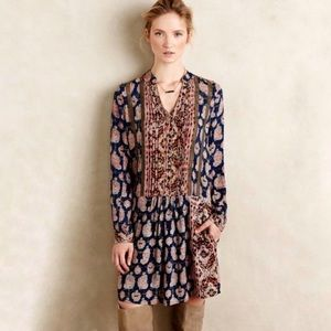 Anthropologie Tiny Boho Paquerette Shirtdress